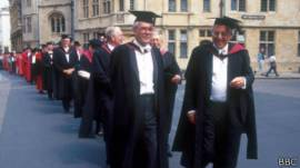 Desfile en Oxford