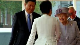 Королева і Сі Дзіньпін