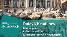 Новини і заголовки англійською мовою