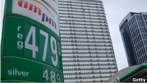 US petrol