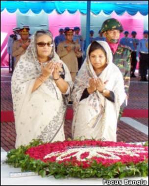 बांग्लादेश, शेख़ हसीना, शेख़ रेहाना