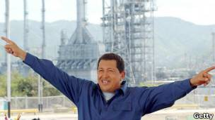 Chavez en petrolera