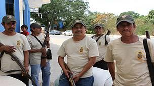 Autodefensas en Guerrero, México