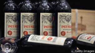 Vinho Petrus (Foto Getty Images)