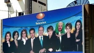 Cartel promocional de Televisa