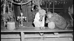 Velorio de Cruz de Mayo, estado Miranda, 1953.