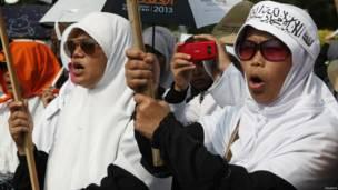 Pendemo Hisbut Tahrir