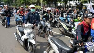 Protes menentang kenaikan BBM