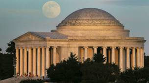Superluna, Washington DC