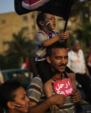 Hombre con niños, AFP