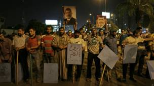 Adherentes de Morsi, AP