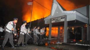 pintu masuk Lapas Tanjung Gusta di Medan, foto oleh Kharisma Tarigan, AFP