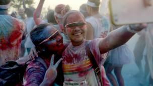 the color run, द कलर रन, बीजिंग, चीन