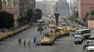 Despliegue en El Cairo