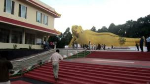 restored buddhist temples
