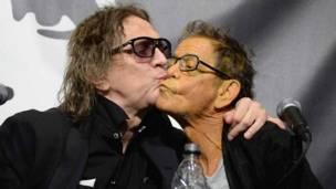 Lou Reed y Mick Rock