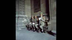Mexico City, Mexico, 1990. David Constantine