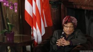 लाइबेरिया की राष्ट्रपति एलन जॉनसन सरलीफ, समाचार एजेंसी रायटर्स