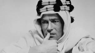 """Peter O'Toole en """"Lawrence de Arabia"""""""
