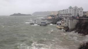 Costa de Plymouth. Foto: BBC.
