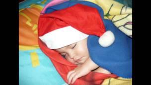 Foto de una lectora de BBC Mundo por el tema Navidad