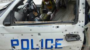 mobil polisi pakistan
