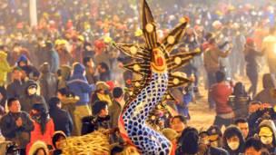 चीनी नए साल का जश्न