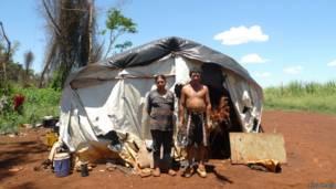 Família kaiowá