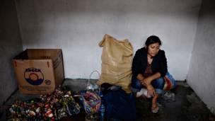 Incendio en mercado de Ciudad de Guatemala. Foto Getty Images