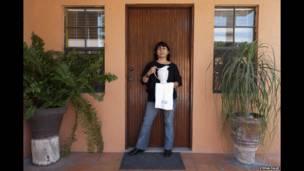 Patricia Ruiz Bayón en Matamoros, México