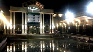 Fachada de casino