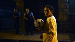 Protestas en favela de Río de Janeiro