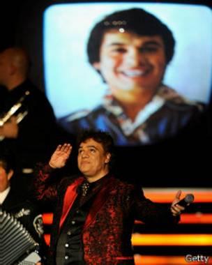 Juan Gabriel en un homenaje en 2009
