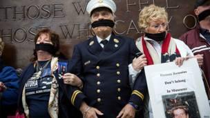 Protesta contra ubicación de restos no identificados en el museo