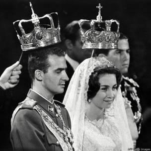 Boda del rey Juan Carlos y la princesa Sofía