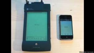 Newton y iPad de Apple