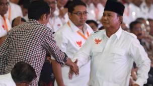 Joko Widodo dan Prabowo