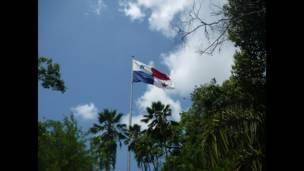 """Foto de una lectora de BBC Mundo por el tema """"banderas"""""""
