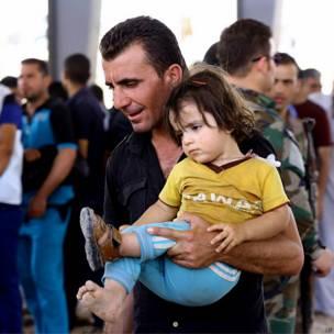 Desplazados en Irak