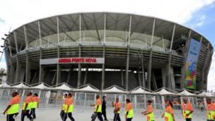 Imagen del Estadio Fonte Nova