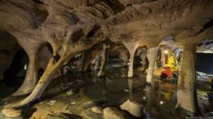 Cueva interior