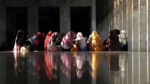 Ramadan di Jakarta.
