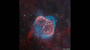 Nebulosa Media Luna. Foto: Mark Hanson.