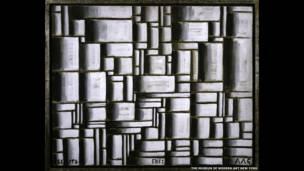 Construcción en Blanco y Negro, 1938. Joaquín Torres-García The Museum of Modern Art, New York. Gift of Patricia Phelps de Cisneros in honour of David Rockefeller, 2004.  Foto Colección Patricia Phelps de Cisneros