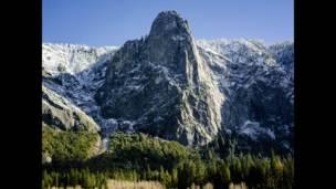 """Foto de una lectora de BBC Mundo por el tema """"montañas"""""""