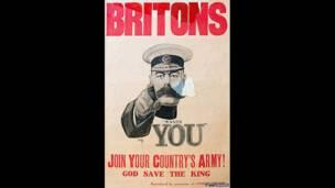 Afiche de reclutamiento británico