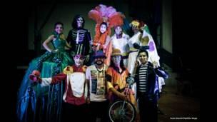 Asociación Cultural Incubaxion Teatro, Piedecuesta, Santander. Foto: Juan David Padilla.