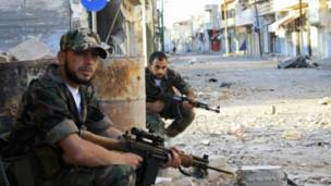 Rebeldes sírios (Reuters)