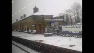 """Foto de una lectora de BBC Mundo por el tema """"ferrocarril"""""""