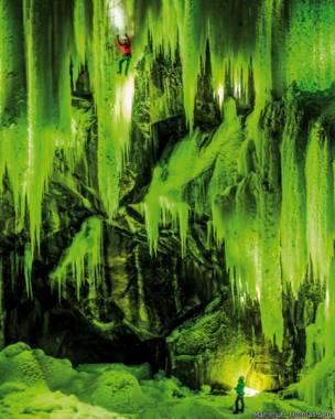 Imagen de escalada en Eidfjord